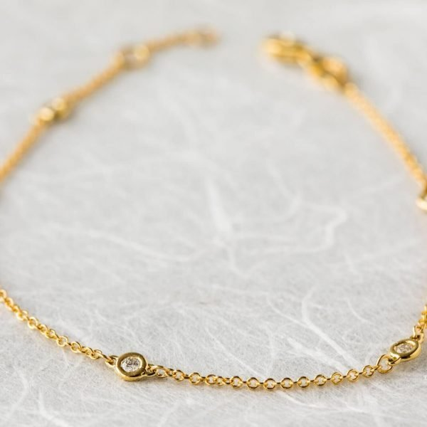 Furneaux Collection Luna Bracelet Yellow Gold