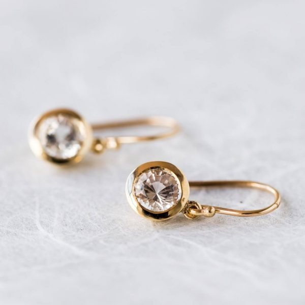Furneaux Collection Luna Earrings Yellow Gold