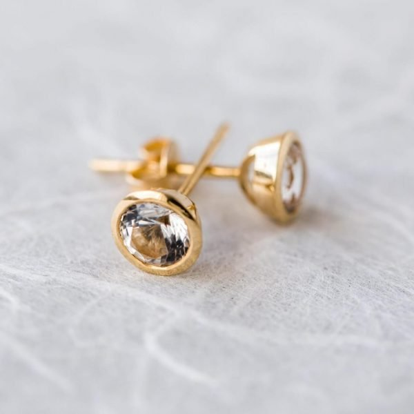 Furneaux Collection Stella Studs Yellow Gold